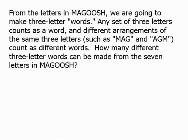 letter words can be made b and all the letters show answer magoosh gre