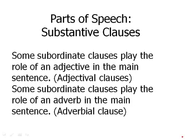 Substantive Clauses Magoosh Gmat