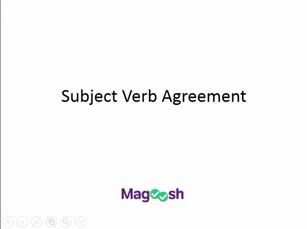 Subject Verb Agreement Magoosh Sat